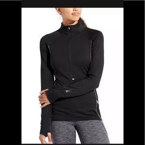 Athleta Half Zip Long Sleeve Athletic Top Size S